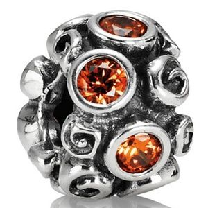 AUTHENTIC Pandora (Spot & Swirl) 925 SILVER Charm